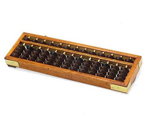 Ábaco portátil de madera