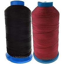 Ltsstoreuk Hilo de coser de nailon de 1500 yardas, tamaño T70#69, para