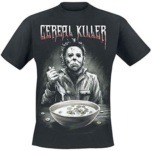 Halloween Michael Myers - Cereal Killer T-Shirt schwarz M