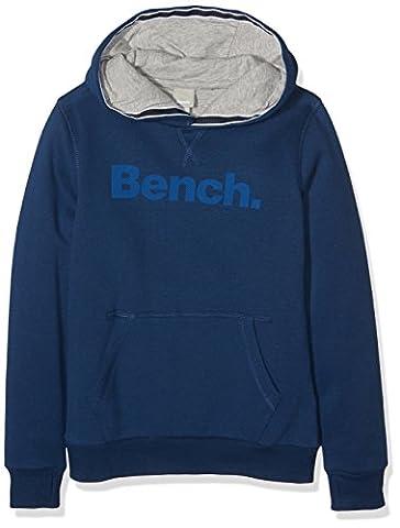 Bench Core Hoody, Sweat-Shirt à Capuche Garçon, Bleu (Navy Blue Bl063), 164 (Taille Fabricant: 13-14)