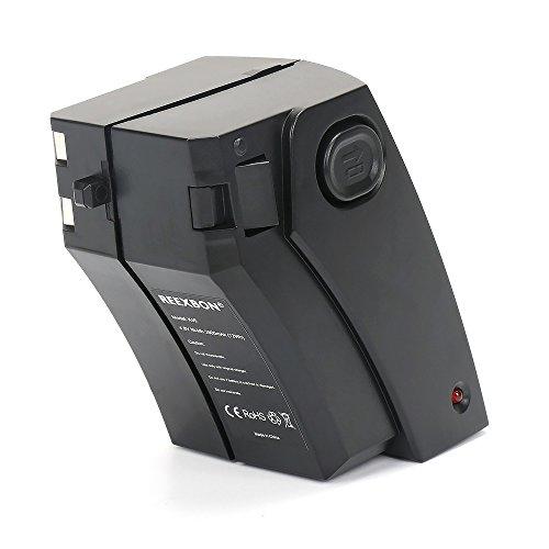 REEXBON Ni-MH Akku 4.8V für Staubsauger Reinigung Roboter Kärcher K55 Pet, K55 Pet Plus wie 1.258-509.0, 28100010, 6.654-118.0