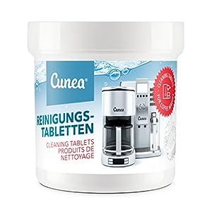 Cunea 50x Reinigungstabs für Kaffeevollautomaten und Kaffeemaschinen Reinigungstabletten Clean