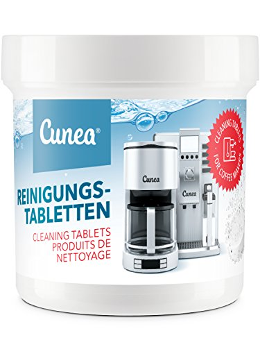 Cunea Pastiglie pulenti per macchina del caffè 50x del peso di 2.0g