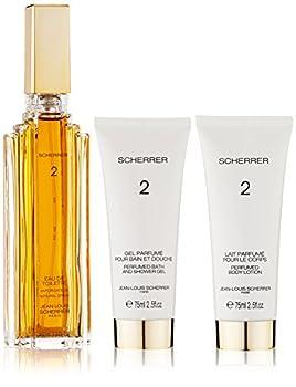 Parfums Scherrer Paris Scherrer 2 100ml Edt Spray & 75ml Body Lotion & 75ml Bath & Shower Gel 0