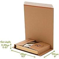 Buch CD DVD Kartusche Umwickeln C1 C2 C3 C4 C5 Post Schachteln Selbstklebender Streifen Einfach Reißstreifen Mail Bereit Karton Umwickeln - C1 (216x154mm)