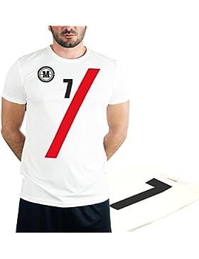 MUSH T-Shirt Sportive Fronte e