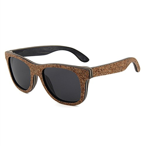LX-LSX Sonnenbrille Mode Bambus Holz Kork Mezzanine Holz High-End-Atmosphäre Herren Outdoor Sports Driving Anti-UV-Brille
