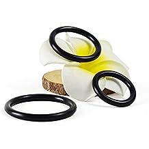 Anello avanzato del pene del silicone del pene dell'anello di prematura dell'elemento di impulso di ritardamento dell'eiaculazione precoce-3 pezzi