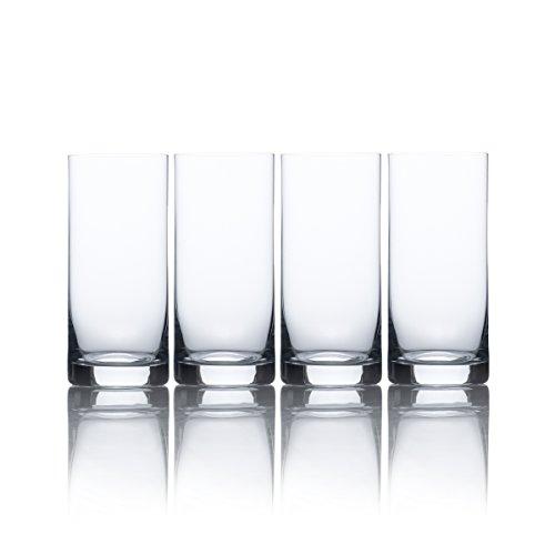 Mikasa Laura Double Old Fashioned, 348 ml, 4 Stück Highball Glas 15.5 oz. farblos 4 Double Old Fashioned Gläser