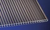 Polycarbonat Stegplatten Hohlkammerplatten bronce10 mm (3000 x 1050 x 10 mm)