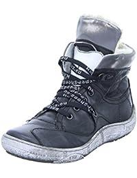 Damen Schnür-Boots Größe 36 Grau (Grau) Kacper vFwee