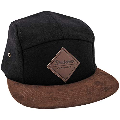 a4ea3d65d6956a Blackskies Grounded 5-Panel Cap Camp Damen Herren Baseball Mütze Kappe  Surfer Skater Snapback Strapback
