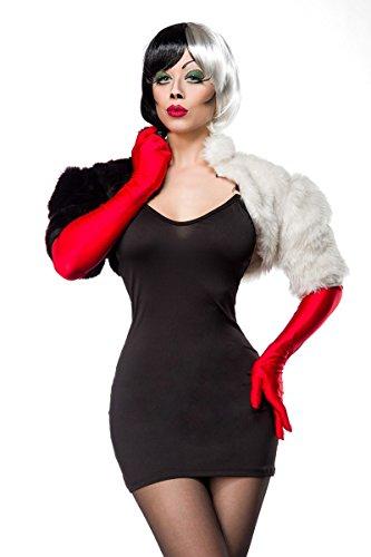3 Erwachsene Kostüm Für Musketiere - Cruel Lady Kostüm 80036 - 3-teiliges Faschingskostüm von Mask Paradise (S)