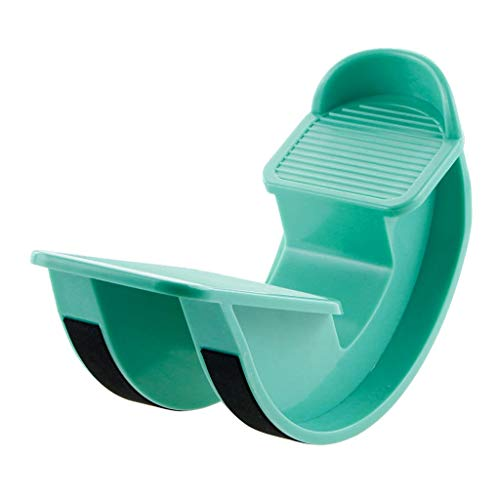 Masrin Fuß-Rocker-Waden-Bahre-Knöchel-Ausdehnungs-Brett-Muskel-Sport-Massage-Pedal (Grün)