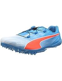 Puma Bolt Evospeed Disc, Chaussures de course pour compétition mixte adulte