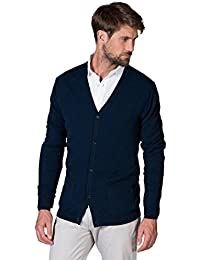 WoolOvers Cardigan à col en V - Homme - Pur Cachemire