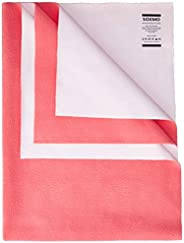 Amazon Brand - Solimo Baby Water Resistant Large Size Dry Sheet (140cm x 100cm, Dark Pink)