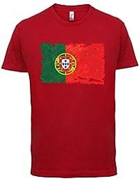 Dressdown Portugal Drapeau Style Grunge - Homme T-Shirt - 13 Couleurs 98316ff08fa