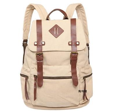 iDream - 2014 nouveau sac à dos sac en toile d'épaule pour école hiking camping randonnée voyage etc. - 32cm * 18cm * 43cm - pour ordinateur jusqu'à 14''
