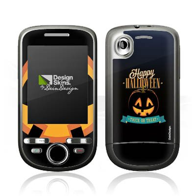HTC Tattoo Case Skin Sticker aus Vinyl-Folie Aufkleber Halloween Kürbis Trick Or Treat