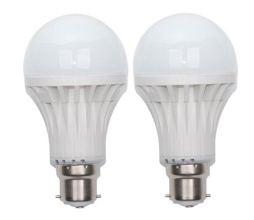 Varsha 7 Watt Plastic LED Bulb(Cool Day Light)