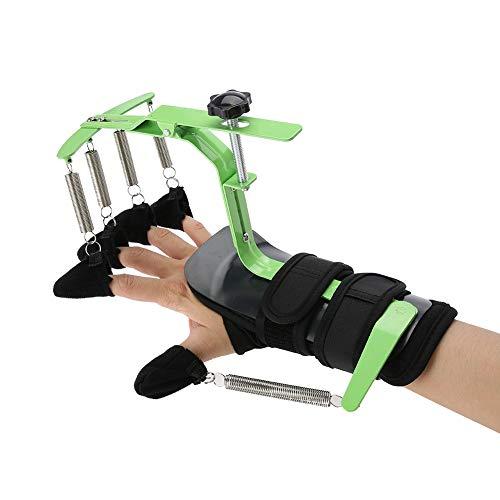 Enstellbare Finger Handgelenk orthotics Trainingsgerät, Hand Rehabilitation Training Finger Orthesen für Schlaganfall Hemiplegie Patienten Sehnen Übung Reparatur, Finger Trainer Links und rechts