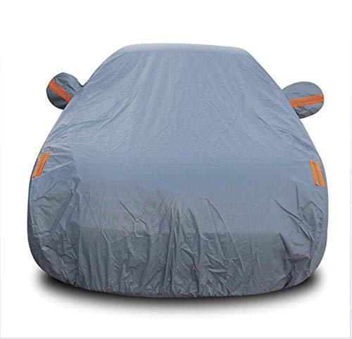 DENGDAI Couvre-poussière Automobile, pour Mitsubishi Motors: Langer, Gant, grandis, Outdoor, Pajero, Zinger,Gray,Pajero
