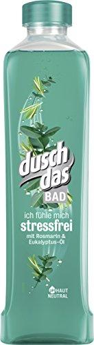 Duschdas Bad stressfrei, Badezusatz, 6er Pack (6x 500 ml) -