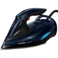 Philips Plancha de Vapor con tecnología OptimalTEMP GC5036/20, 3000 W, 0.35 litros, Negro