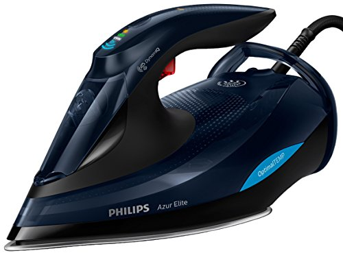 Philips Optimal Temp GC5036/20 - Plancha Ropa, 3000 W, Golpe Vapor 260 g, Vapor Continuo 70 g, Suela Steam Glide Adv, Sensor Movimiento DinamiQ, Modo Eco, Antical Integrado, Sin Ajuste de Temperatura