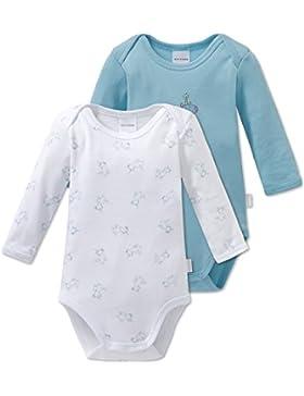 Schiesser Baby-Mädchen Strampler, 2er Pack