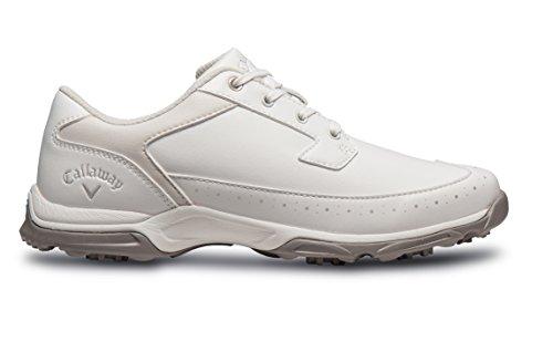 Callaway Cirrus II Damen Golf-Schuhe, Damen, Weiß, 40.5 (W)