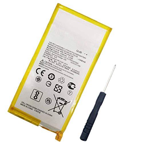 Bestome Batteria di ricambio compatibile con Motorola Moto Z Play, Moto Z Play Droid XT1635-03, XT1635-01, XT1635-02 GL40 SNN5974A con attrezz
