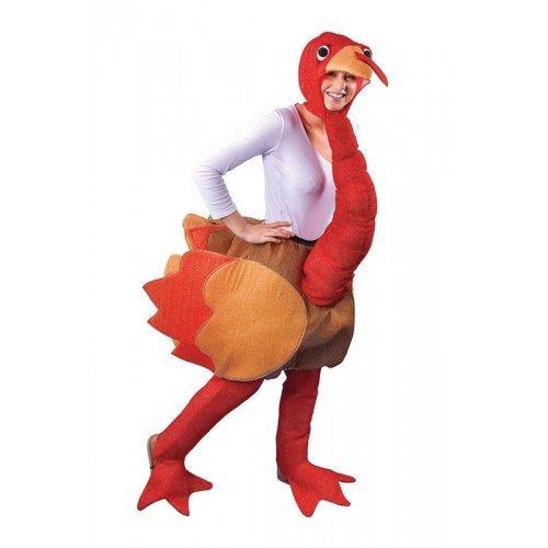Erwachsene Thanksgiving Weihnachten Truthahn Animal Neuheit Kostüm Kleid Outfit