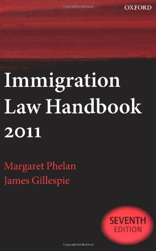 Immigration Law Handbook 2011 by Margaret Phelan (2010-11-11)