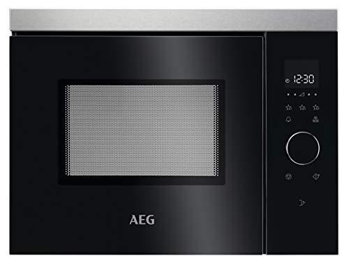 AEG MBB1755SEM 50cm Einbau-Mikrowelle / Touch-Bedienung / Display mit Uhr