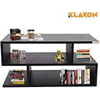 Klaxon Coffee Table (Matte Finish, Black)