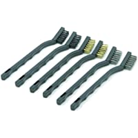 Rolson Mini Wire Brush Set - 6 Pieces