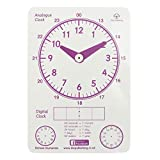 DSC Publishing - Learning to Tell the Time Clock - How to Tell the Time Guide teaching resource, ks1 learning clock for children learning to tell the time