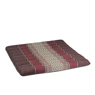 Yogakissen Sitzkissen Meditationskissen Stuhlkissen Kissen 50x45cm Baumwolle Kapok