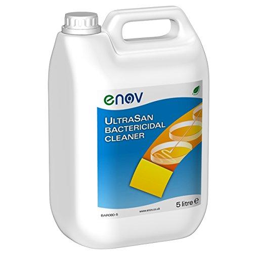enov bar080–5ultrasan bakterizide Reiniger, 5l Jar (Pack von 2) Desinfektionsmittel Jar