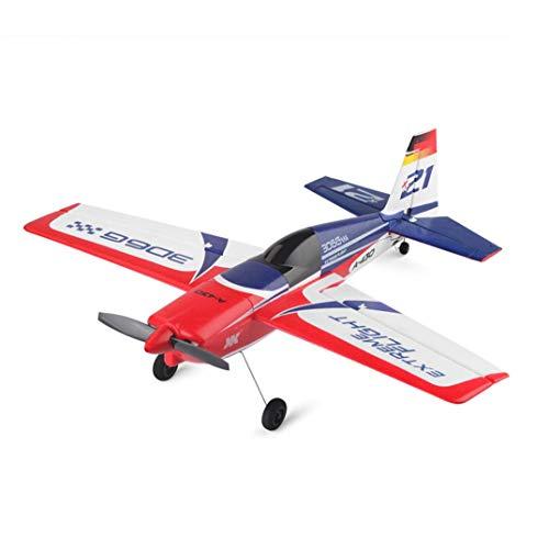 Igemy Segelflugzeug Schwanzloser Motor RC Flugzeug 3D6G System EPS Flugzeuge mit Propeller (Weiß) (Fernbedienung Flugzeug-motoren)