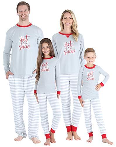Sleepyheads Kinder Schneeflocke Pyjama (SHM-5012-K-EU-4T)