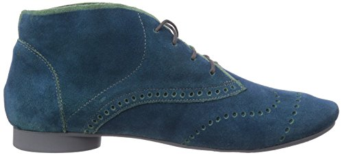 Think  GUAD, Bottes Classics courtes, doublure froide femme Bleu - Blau (BLUE/KOMBI 92)