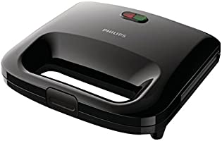 Philips Daily Collection Panini Maker - HD2394/91, Black
