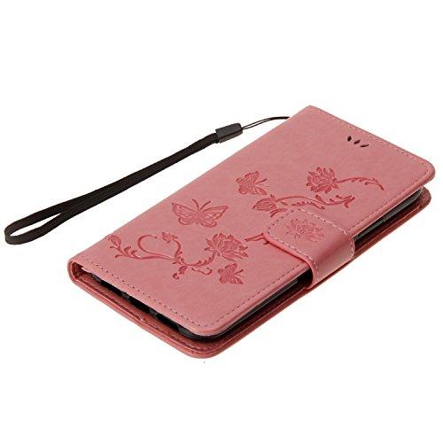 Cover iPhone X, Sportfun Custodia Portafoglio In Pelle Con Wallet Case Cover Per iPhone X con Porta Carte e Funzione Stand (08) 03
