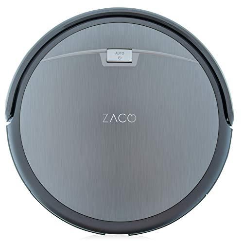 ILIFE ZACO A4s Robot aspirador con sistema CyclonePower con diversos modos de aspiración - Limpieza profunda de alfombras y todo tipo de suelos, 22 W, 450 milliliters, 65 Decibelios, Plastic, Gris