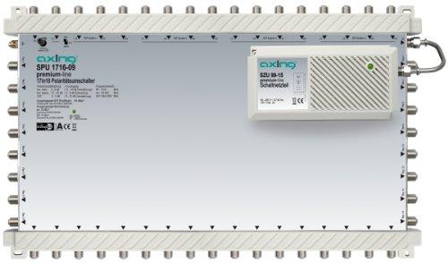 Axing SPU 1716-09 DiSEqC Multischalter 17 auf 16 für 4 Satellitenpositionen