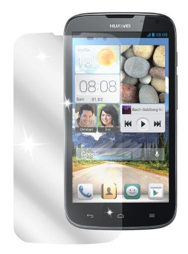 Ecultor I 6x Schutzfolie klar passend für Huawei Ascend G610 Folie Bildschirmschutzfolie