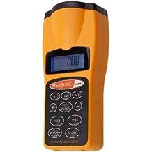 Generic medidor de distancia ultrasónico con puntero láser, pantalla digital medidor de distancia de herramientas CP-3007